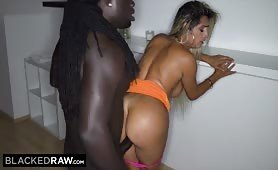 She's never done anything like that with a white guy