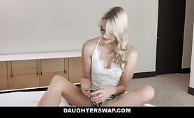 Teens Caught By Step Dads Get Fucked