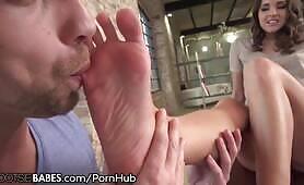 Amirah Adara Drilled as Feet Worshiped and Licked