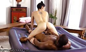 He Destroys Her Tight Pussy During Roleplay Session