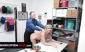Busty Milf Dana Dearmond Suspected For Shoplifting By Security Officer